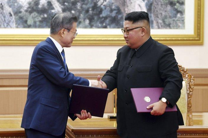 Líderes de Corea firman acuerdo histórico en favor de la desnuclearización