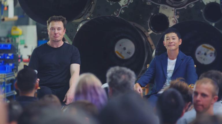 SpaceX enviará a la Luna a un mecenas de las artes