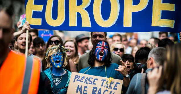 Brexit: Manifestación por un segundo referendum