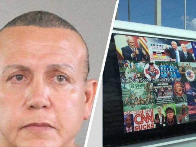 EEUU: 58 años de prisión para el sospechoso de enviar paquetes bomba