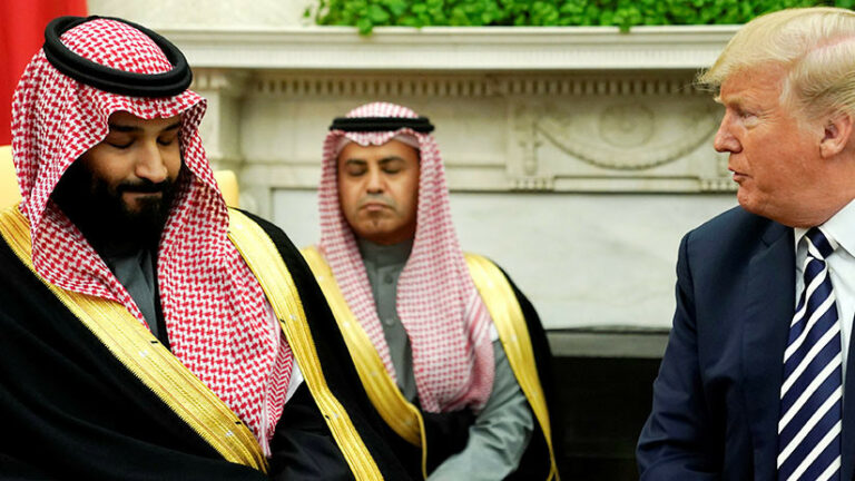 Trump humilla a los sauditas según el Canciller iraní