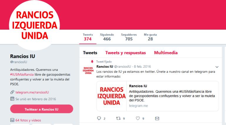 El responsable de la web de IU denunciado por atacar en redes con falsa identidad