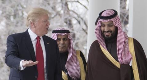 """Trump: """"La dictadura saudí pagará la reconstrucción de Siria"""""""