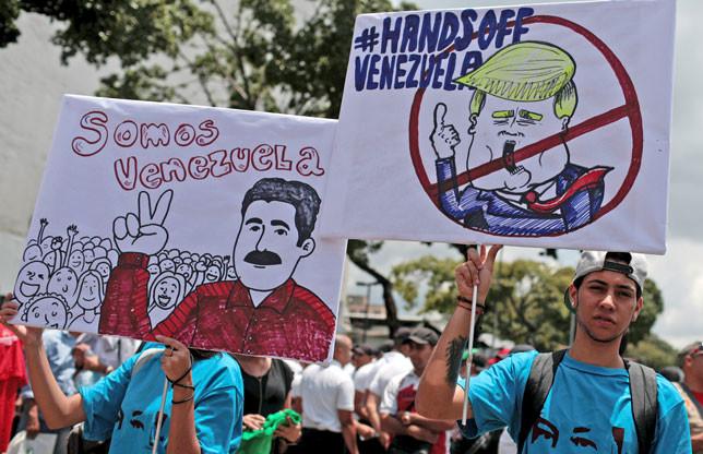Venezuela denuncia un nuevo plan golpista orquestado por EEUU
