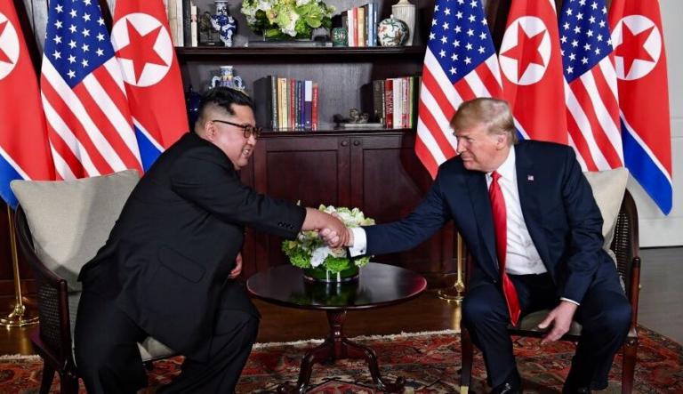 EEUU espera avanzar con el encuentro entre Trump y Kim
