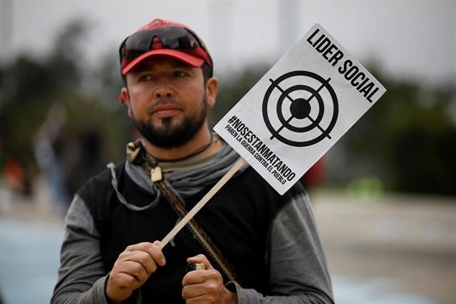 Colombia: 120 líderes sociales asesinados en 3 meses