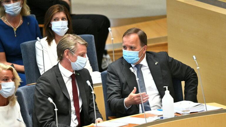 El primer ministro sueco, Lofven, sigue siendo la mejor opción del público a pesar de perder el voto de desconfianza